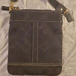 COACH  - BLACK CROSSBODY BAG